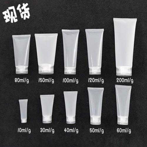 Tuýp nhựa trong suốt nhiều size 10gr - 30gr-...200gr