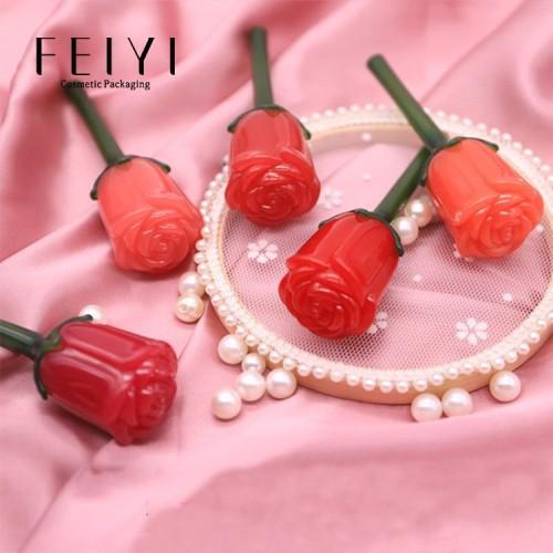 Vỏ son kem hoa hồng
